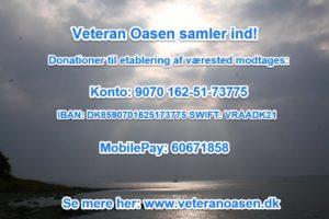 Indsamling til Veteran Oasen.